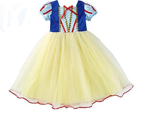 Das beste Mädchen Kostüm Kleid Schneewittchen Halloween Cosplay -