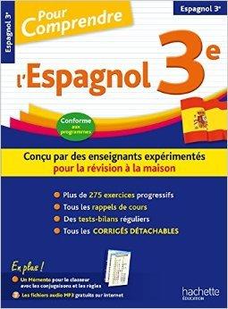 Pour Comprendre Espagnol 3E de Marie-Ange Faus-Richiero ,Carmen Acosta Luna ( 1 juillet 2015 )