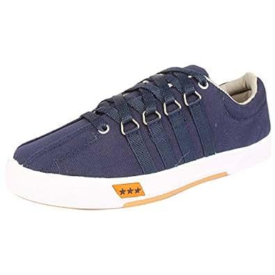 Unistar Men's Blue Airmax Canvas Casual Shoes -6 UK