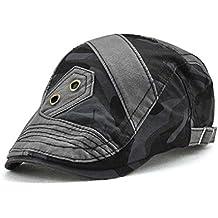 FUBULE Gorra de costura de camuflaje de tendencia visera al aire libre Gorra  geométrica personalizada de 5af4c7eaff9