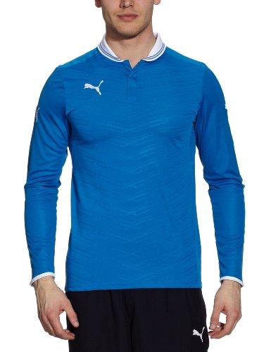 PUMA, Maglietta uomo PowerCat 1.12 a maniche lunghe, Blu (puma royal-white), XXXL Blu (puma royal-white)