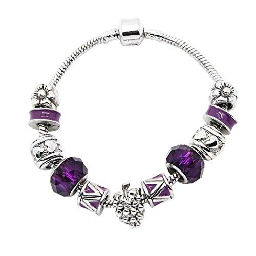 souarts-pulsera-con-adornos-de-perlas-y-espaciador-forma-de-uvas-19cm-color-morado