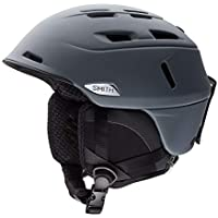 Smith Helmet Camber - Casco de esquí, Color Gris, Talla 55-59 cm