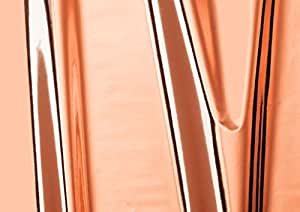 DC FIX Rose Gold Gloss 1.5m x 45cm Sticky Back Plastic Self Adhesive Vinyl Contact Paper 347-0010