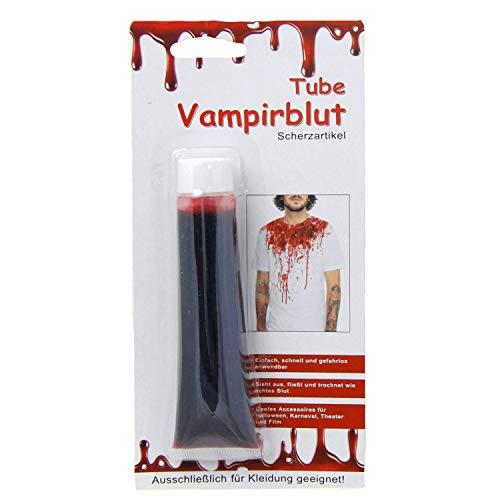 ube 14ml einfach & schnell Blut auf Ihrer Kleidung Halloween Kunst-Blut ()