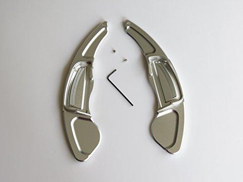 Manette de direction en aluminium argenté Pinalloy Extension Fit Jazz Civic CRV