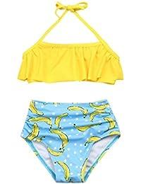 bb12fed1e Ropa de baño Niña K-youth® 2018 Barato Ropa Verano Niña Natación Conjunto  de Bikini de Baño Niñas Traje de Baño…