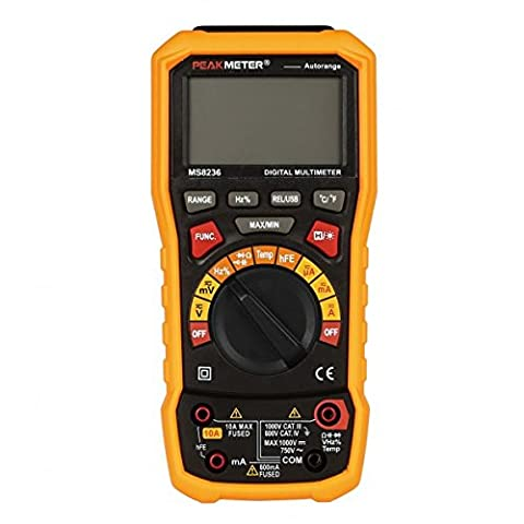 Hyelec MS8236 Multimètre numérique arrêt automatique