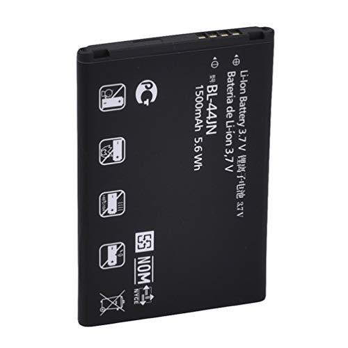 SHUANGCONG Calidad Reemplazo de batería de ión de Litio de 1500 mAh estándar para LG BL-44JN Negro Negro