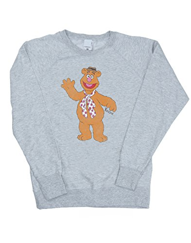 Muppets Femme Classic Fozzy Sweat-Shirt Heather Gris
