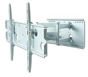 """DMP pLB-support mural-pour écran lCD 127 taille m 50 """"(76, 0 2–127 max 58 kg, rotatif et orientable-argent"""