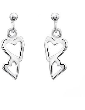 Jo for Girls Kinder und Jugendliche-Ohrhänger Sterling-Silber 925 CE104
