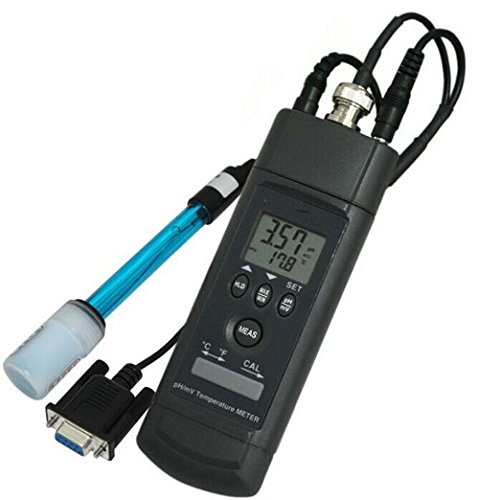 Gowe PH-Messgerät (RS-232Port) PH und Temperatur Daul Display Storage 128gemessen Daten, Meter: 0°C bis 50°C (32°F bis 122°F) bei < 70% R.H., PH-ELEKTRODE: 0°C bis 80°C (32¡F bis 176¡F). Genauigkeit: festgestellt, Genauigkeit bei 23¡° ¡à5¡C (79¡F ¡à9¡F), < 70% r.F. (Tds-elektrode)