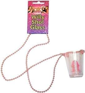 Pour enterrement de vie de jeune fille Motif pénis 6 verres à Shot sur pendentif Idéal accessoires