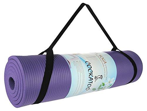 Cockatoo (10 mm & 12 mm), Size 183 x61 Cm Yoga Mat; Yoga; Yoga Mat (12 mm)
