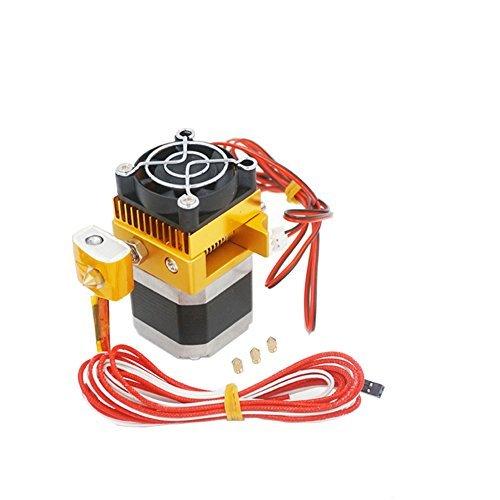 Redrex Assembled MK8 Extrusora 0,2/0,3/0,4/0,5mm Hotend Imprimir Boquilla para MakerBot Prusa i3 Reprap Impresora 3D de Filamentos 1.75mm de Compatibles