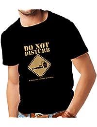 Camisetas Hombre Experimento del Alcohol de la Sangre en Curso - Diver tee Shirts