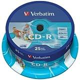 Verbatim 43439 - CDs vírgenes (25 unidades)