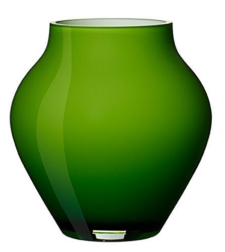 Villeroy & Boch Vase, Glas, Grün, 14.00 x 11.00 x 13.50 cm