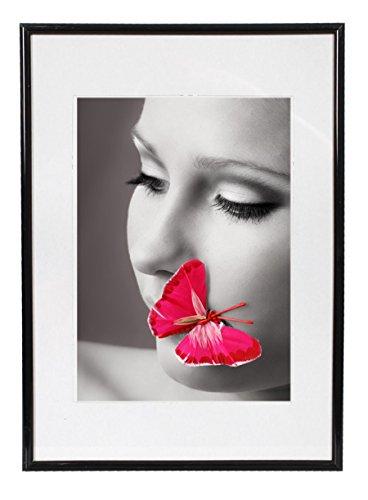 Preisvergleich Produktbild Ideal Fotostyle Bilderrahmen in 13x18 bis 50x70 cm Bilder Foto Rahmen: Farbe: Schwarz / Format: 13x18