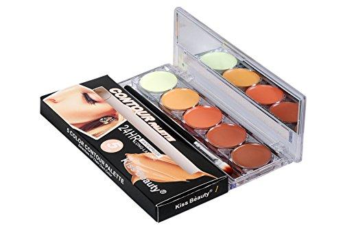 New-Kiss-Beauty-Contour-Concealer-Highlighter-Palette-5-Color