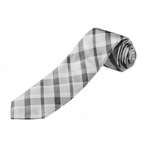 Preisvergleich Produktbild Krawatte Glencheck 100% Seide