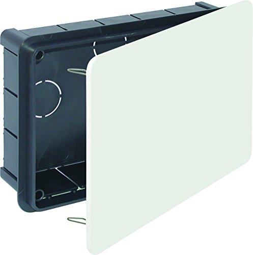 Solera 614-Box 200x 130x 60Deckel weiß Greifer Metall Tasche - Greifer Deckel