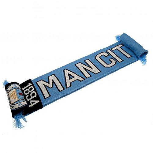 Manchester City FC–NR–Bufanda Bufanda Fútbol Fan Artículo Fan Shop
