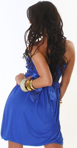 JELA London - Robe - Boule - Uni - Sans manche - Femme Bleu - Blue - Dark blue