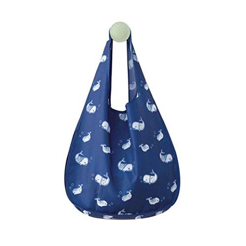 Trada Handtaschen, Tragbare Faltbarer Einkaufstasche-wiederverwendbarer Taschen Beutel bereiten Speicher Große Kapazitäts Wasserdichte Tasche Organisationstasche Hauptspeicher Taschen (B) -