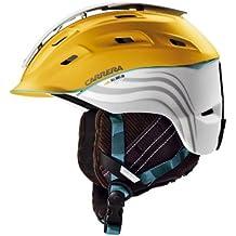 Carrera Makani 2.13 Mountain - Casco de esquí, color amarillo y blanco mate Yellow White Matte Talla:XXS/XS 51-55 cm