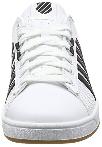 K-Swiss Herren Hoke Eq Cmf Low-Top Weiß (WHITE/BLACK/DRK GUM)