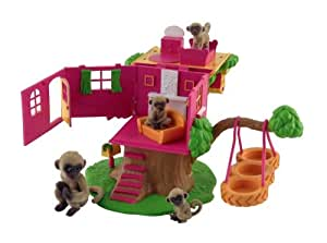 Corinthian Jungle In My Pocket Monkey Hang Out Playset