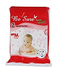 Renuka Enterprises Baby Diapers 2 Piece Pack,Medium