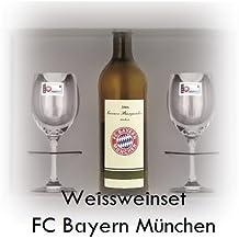 FC Bayern München WMF Weißweinglas Set '' FC Bayern München '' / Weinglas / Weißwein / Bayern München