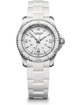 Victorinox Damen-Armbanduhr Maverick Chronograph Quarz Edelstahl 241700