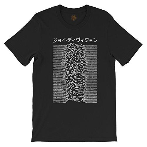 studio315 Unisex Unknown Pleasures 'Japan' t-Shirt in 3 Colours 80s Joy Division top