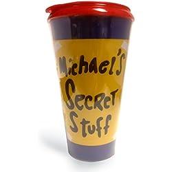 Michael's Secret Stuff Travel Coffee Mug Space Jam Jordan 16 Oz. Tumbler Cup by MyPartyShirt