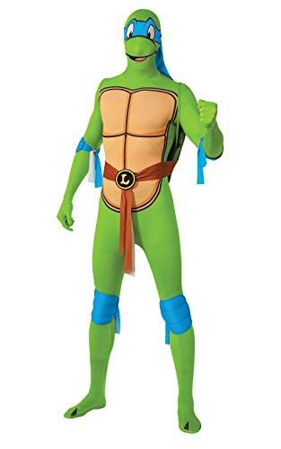 Leonardo 2nd Skin Teenage Ninja Turtles, Erwachsenen-Kostüm–Medium (Ninja Turtle Adult Kostüme)