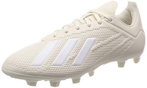 adidas X 18.4 FG, Botas de fútbol para Hombre, Blanco (Casbla/Ftwbla/Dormet 0), 40 EU