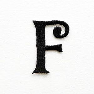 Gestickte Aufnäher, Alphabet Buchstaben Von A Z, Zum Nähen Oder Aufbügeln  Auf Jeans /