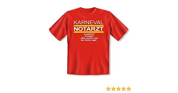 Herren T-ShirtFASCHING Comedy Shirts ARZT KOSTÜM