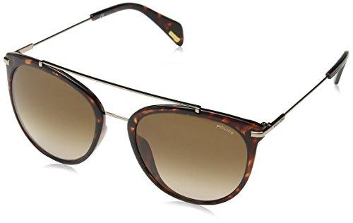 Police Damen Goldeneye 2 Sonnenbrille, Mehrfarbig (Shiny Dark Havana), 47