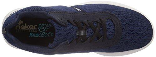 Rieker - 55104, Scarpe da ginnastica Donna Blu (Blau (marine/navy / 14))