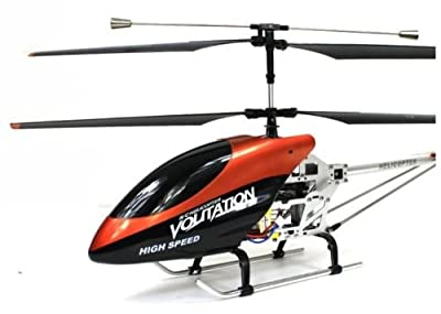 GadgetinBox - LARGE DOUBLE HORSE 9053 VOLITATION RADIO REMOTE CONTROL GYRO HELICOPTER - OUTDOOR