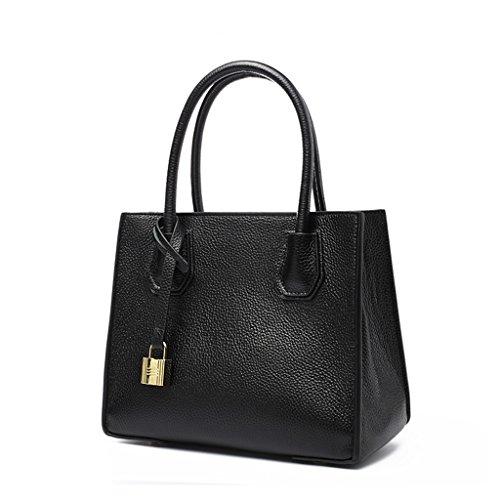 Bag Messenger Bag Zcjb Tracolla Borse Ladies Grigio Borsa Nero A colore A Tracolla nxYrqBISY