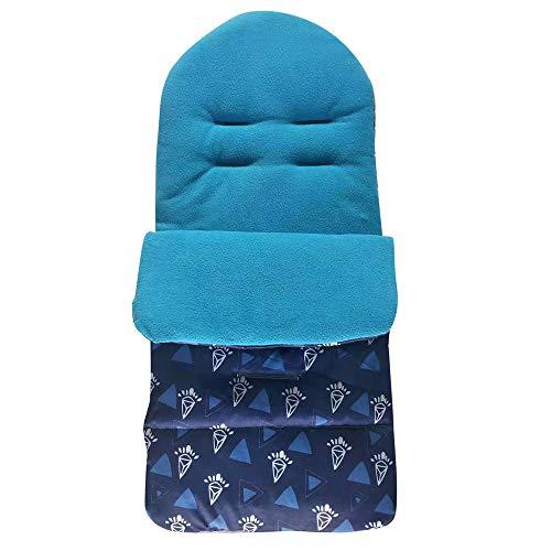 QinMM Saco de Abrigo Universal Invierno para Cochecito - de 0 a 3 años - Resistente al Viento y al Agua