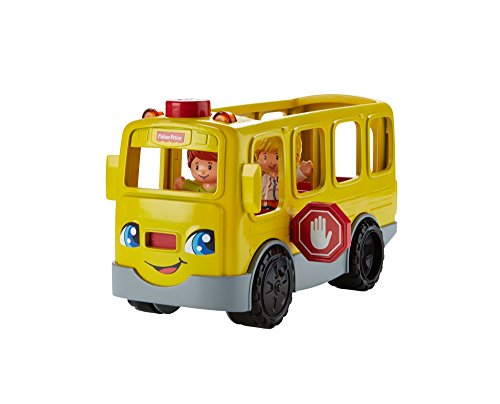 Little People-spielzeug-bus (Mattel Fisher-Price FKW99 - Little People Schulbus)