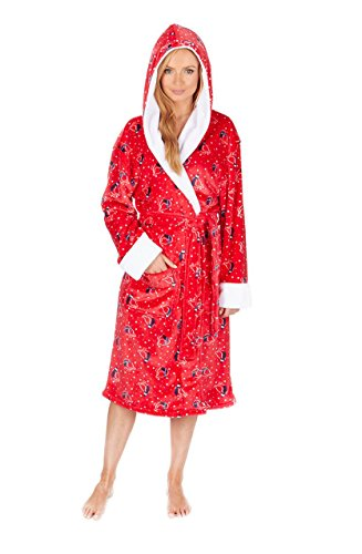 Generic - Robe de chambre - Femme red
