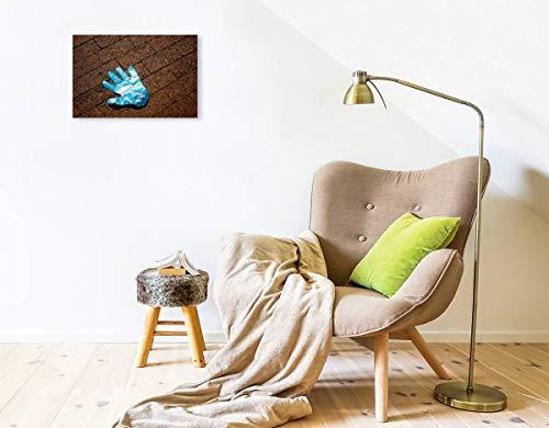 Calvendo Premium Textil-Leinwand 45 cm x 30 cm Quer, Ein Motiv aus Dem Kalender Handschuhe – Verloren – Vergessen | Wandbild, Bild auf Keilrahmen, Fertigbild Leinwand, Leinwanddruck Menschen Menschen - 4